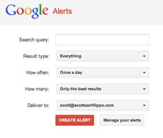 """""""Using Google Alerts to Manage Your Online Reputation."""" Or, """"Please Don't Call Me Scotty."""" 