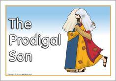 The Prodigal Son visual aids (SB1445) - SparkleBox