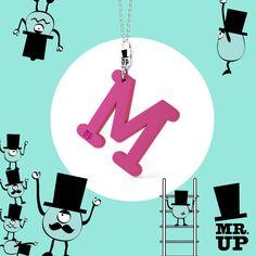 Scopri Mr.Up! Una collezione di lettere oversize in silicone profumato adatte per ogni occasione! Le trovi nelle migliori gioiellerie! #MrUp #FashionJewels  →www.mrup.it←