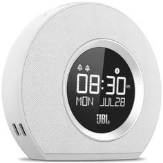 JBL Horizon Bluetooth Clock Radio (White)