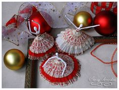 You'll like this cute Paper Ballerina DIY project. Have you ever dreamed about being a ballerina as a child ? Cute Crafts, Easy Crafts, Diy And Crafts, Crafts For Kids, Paper Crafts, Diy Paper, Christmas Crafts, Christmas Decorations, Christmas Ornaments