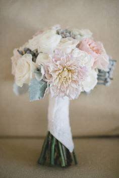 Pastel bouquet: http://www.stylemepretty.com/2015/02/02/ford-plantation-wedding-with-southern-elegance/ | Photography: Timwill - http://www.timwillphoto.com/