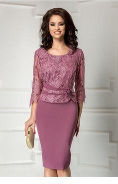 Pink office work dress | Inspiring Ladies