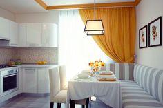 Обираємо колір кухні: стильні та актуальні поєднання для кухонного інтер'єру | Ідеї декору Happy Room, Kitchen Decor, Curtains, Design, Home Decor, Google, Bedrooms, Living Room, Interior