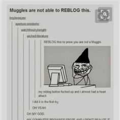 Am I a muggle?