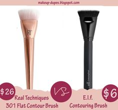 Contouring brush on a budget