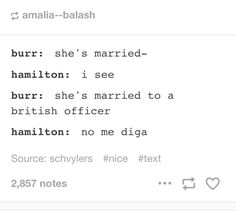 "Ok ok ok so this is an In the Heights/Hamilton mashup and I approve (no mi diga means ""you don't say"" in Spanish)<<yassss Theatre Nerds, Musical Theatre, Theatre Jokes, Theatre Problems, Alexander Hamilton, 21 Chump Street, Hamilton Lin Manuel Miranda, Be More Chill, Hamilton Musical"