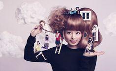 kyary pamyu pamyu & momoiro clover Z. artwork by yuni yoshida. Fashion Shoot, Editorial Fashion, Kyary Pamyu Pamyu, Sweet Style, Love Hair, Color Photography, Japanese Girl, Girl Photos, Wearable Art