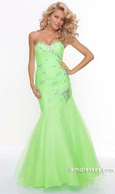 http://www.ikmdresses.com/Prom-Dresses-2013-New-Arrival-Green-Trumpet-Mermaid-Sweetheart-Organza-Lace-Up-p82654