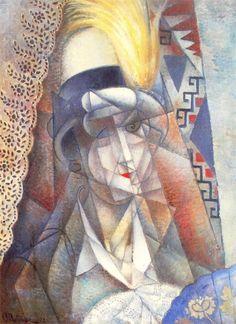 La Plume Jaune, 1912 - Jean Metzinger -