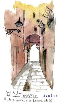 Barcelona by Amaia Arrazola