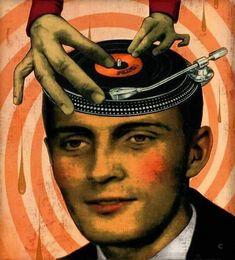 Messenger Dj Music, Music Is Life, Heavy Metal, Arte Hip Hop, Vinyl Junkies, Record Players, Record Collection, Art Graphique, Cultura Pop