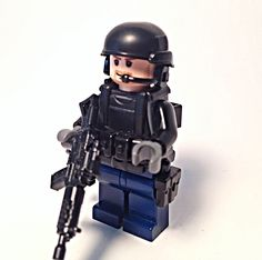 Lego spec ops modern combat soldier