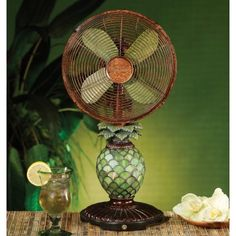 Pineapple fan and night lite
