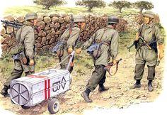 1941 05 Creta Fallschirmjäger 7ª División - Ron Volstad