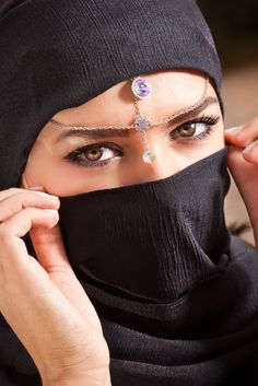 Middle Eastern Woman in traditional dress