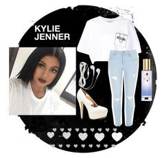 """Kylie jenner inspiration #2"" by blankspace2015 ❤ liked on Polyvore featuring Moschino, River Island, Victoria's Secret, women's clothing, women, female, woman, misses and juniors"