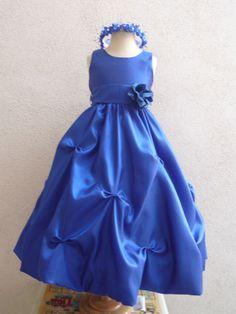 Tips for buying blue flower girl dresses photo - 13