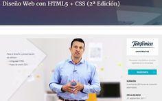 Próximamente dará comienzo un curso gratis de Diseño Web con HTML5 y CSS. También aprenderás sobre accesibilidad web y posicionamiento SEO.