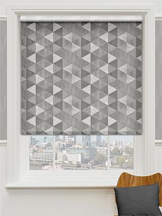 Choices Juno Silver Grey Roller Blind from Blinds 2go