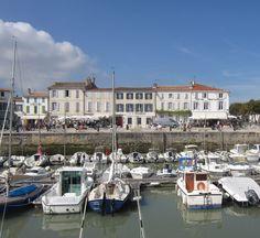 La Flotte on Île de Ré off the coast of La Rochelle.