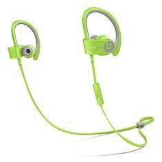 Wireless Beats Powerbeats2 In-Ear Headphones - Green Sport - Apple