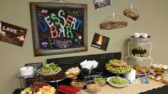 Mens Camp Ideas: Dessert Bar at men's camp