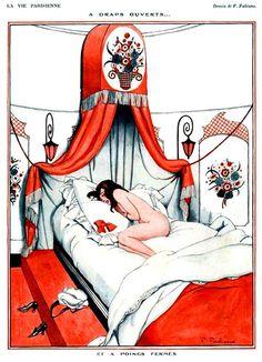 La Vie Parisienne A Draps Ouverts 1922 Fabien Fabiano