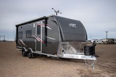Check Out This 2018 Atc Aluminum Trailer Company Toy Hauler