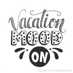 Handlettering, www. Calligraphy Quotes Doodles, Doodle Quotes, Hand Lettering Quotes, Creative Lettering, Typography Quotes, Calligraphy Letters, Vacation Mood, Vacation Quotes, Travel Quotes