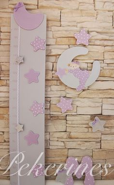 Girl Nursery, Girl Room, Dollhouse Shelf, Growth Chart Ruler, Baby F, Baby Growth, Malva, Baby Keepsake, Kids Store