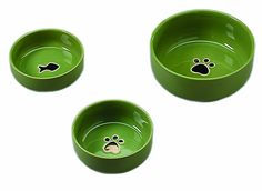 ETHICAL PRODUCTS 773838 Gilded Paw Dish for Dogs, 5-Inch, Green *** Check out the image by visiting the link. (This is an Amazon affiliate link)