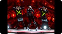 BET AWARDS PERFORMANCE: CHRIS BROWN AND NICKI MINAJ ELEVATE THE GAME Clip : Breezy and Mama Barbz open up the show with a monster medley. Season 2013 (06/30/2013)