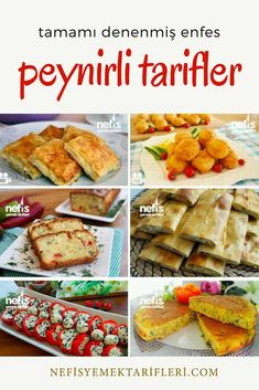 The 13 most delicious recipes that you can prepare with cheese, which are indispensable for breakfast tables, are for you. Very practical recipes with lots of cheeses such as cheese pastry, cheese pie Cheese Pastry, Cheese Pies, Turkish Recipes, Italian Recipes, Ethnic Recipes, Fish And Meat, Fish And Seafood, Cheese Omelette, Most Delicious Recipe