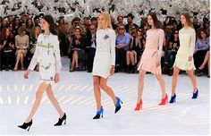 So lets circle back to #women. What better way to begin than with #Dior Fall 2014 #Couture?! The collection is #brutallychic and will need much more coverage here. Stay tuned... www.dior.com #womenswear