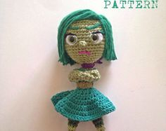 Listing for CROCHET PATTERN ONLY of the OH Home Dreamworks Movie AMIGURUMI  The finished Oh doll is approximately 6 inches tall and 2,5 wide.  Please let me know which email address youd like the patterns sent to!  The pattern is american english written instructions in US standard terms.  ***NO shipping charge for this item as it is a PDF file. All files are emailed out within 24 hours of payment. If you do not receive your purchase via email within 24 hours, please contact me here or at…