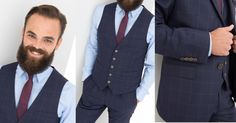 Gilet de costume homme Suit And Tie, Suit Jacket, Breast, Blazer, Costumes, Suits, Jackets, Shopping, Style