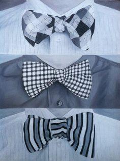 Bow ties as men's art