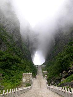 Zhangjiajie Puerta del cielo