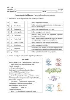 Caderno de atividade - 5º ano - Programa Primeiros Saberes da Infância Curriculum, Homeschool, Brazilian Portuguese, Professor, Vocabulary, Study, Journal, Activities, Education