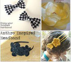 Headband tutorials