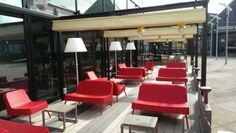 Sofa pour terrasse de bar restaurant - Sledge