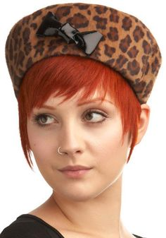 I want this so I can have a new leopard skin pillbox hat!