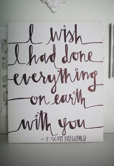 Scott Fitzgerald inspired quote by OnceAGinn on Etsy Book Quotes, Me Quotes, F Scott Fitzgerald, Hopeless Romantic, Beautiful Words, Wise Words, Quotes To Live By, Quotations, Encouragement