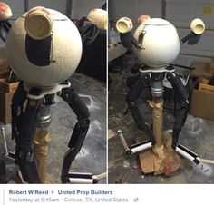 This guy is building a lifesize Codsworth  fallout 4 codsworth fallout cosplay