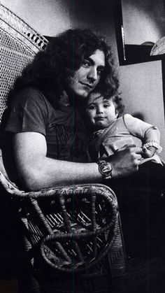 Robert Plant and his daughter Carmen