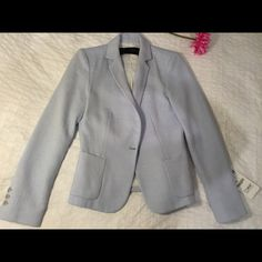 Zara Light Blue Blazer New with tags. Size S. Zara Jackets & Coats Blazers