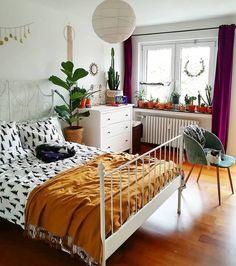 Sweet and Modern Bedroom Interior Design Ideas 2018 Part 32 - Bedroom Decor Ideas Small Room Bedroom, Home Bedroom, Modern Bedroom, Bedroom Ideas, Design Bedroom, Bedroom Decor Boho, Master Bedroom, Romantic Bedrooms, Romantic Room