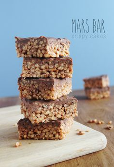 One of my all time fav's MARS BAR KRISPIES