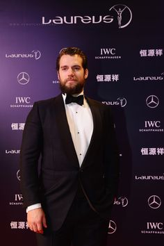 Henry Cavill at the Laureus World Sports Awards 2015